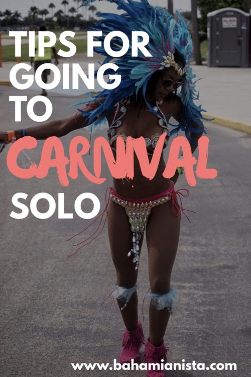 tips for going to carnival solo